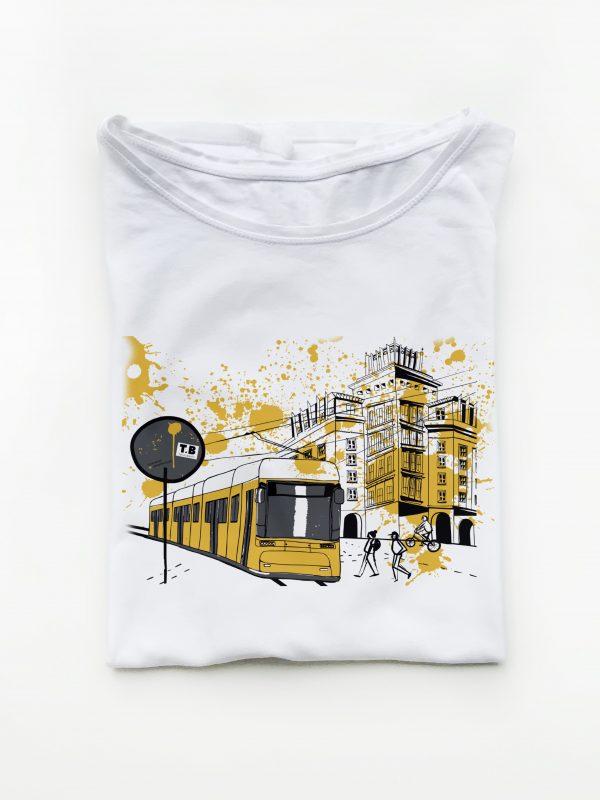 T-Shirt Berliner Straßenbahn von tshirts.berlin